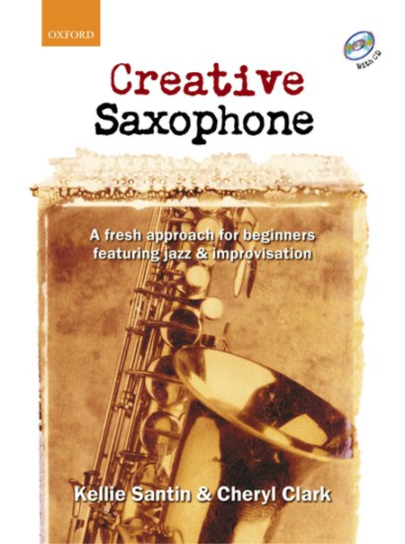 Creative Saxophone (book and CD)