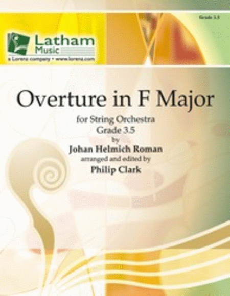 Overture in F Major for String Orchestra