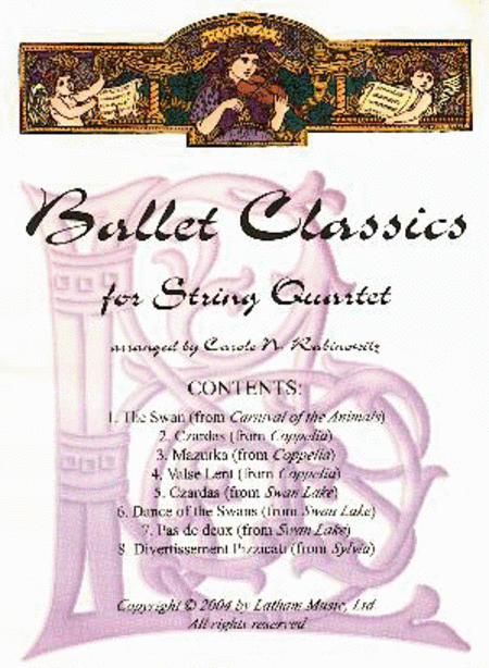 Ballet Classics for String Quartet