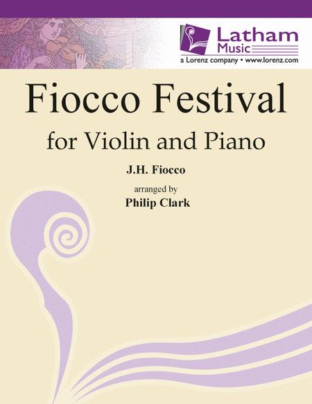 Fiocco Festival for Violin and Piano
