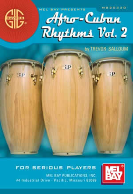 Gig Savers: Afro-Cuban Rhythms Vol. 2