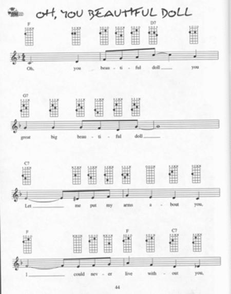 Ukulele Chord Solos in C Tuning
