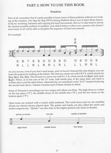 Tomas Cruz Conga Method Volume 2 - Intermediate