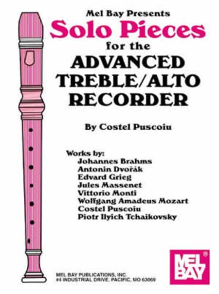 Solo Pieces for the Advanced Treble/Alto Recorder