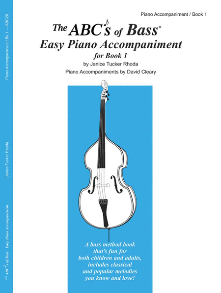 The ABC's of Bass Book 1 - Piano Accompaniment