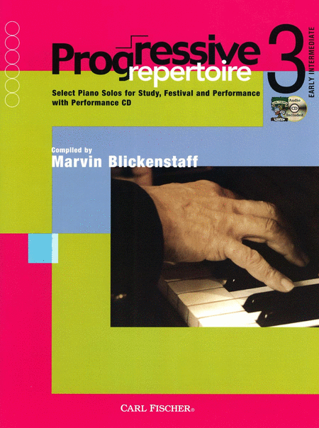 Progressive Repertoire-Book 3