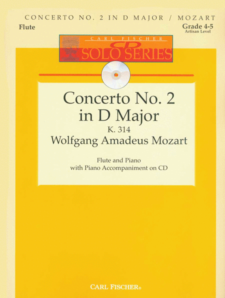 Concerto No. 2 in D Major, K 314