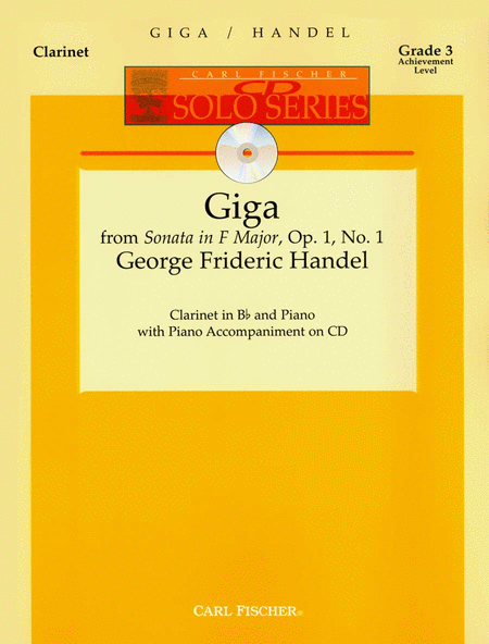 Giga from Sonata in F Major, Op. 1, No. 1