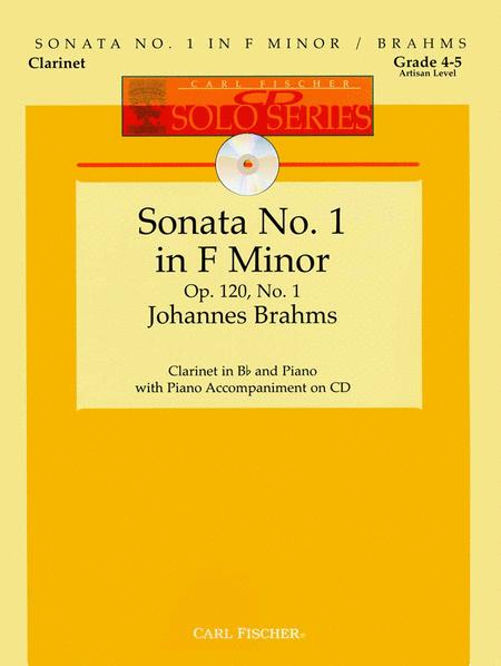 Sonata No. 1 in F Minor , Op. 120, No. 1