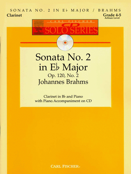Sonata No. 2 in Eb Major, Op. 120, No. 2