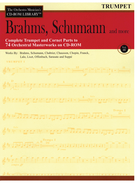 Brahms, Schumann and More - Volume III (Trumpet)