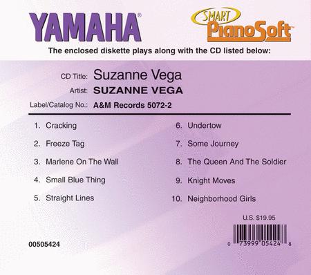 Suzanne Vega - Piano Software