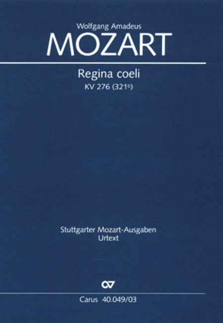 Regina coeli in C major
