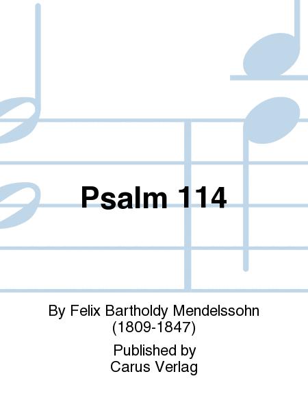 Psalm 114 (Der 114. Psalm)