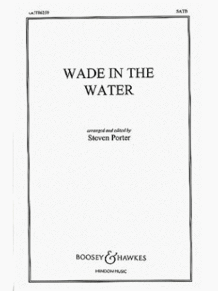 Wade In The Water (satb) Scrd Mxd