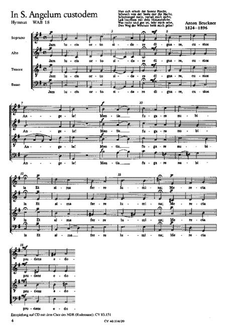 Bruckner: Locus iste; Iam lucis