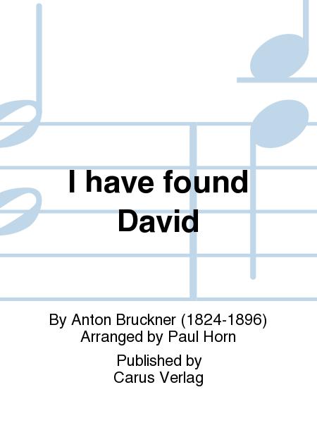 I have found David