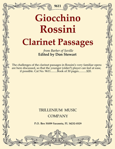 Clarinet Passages