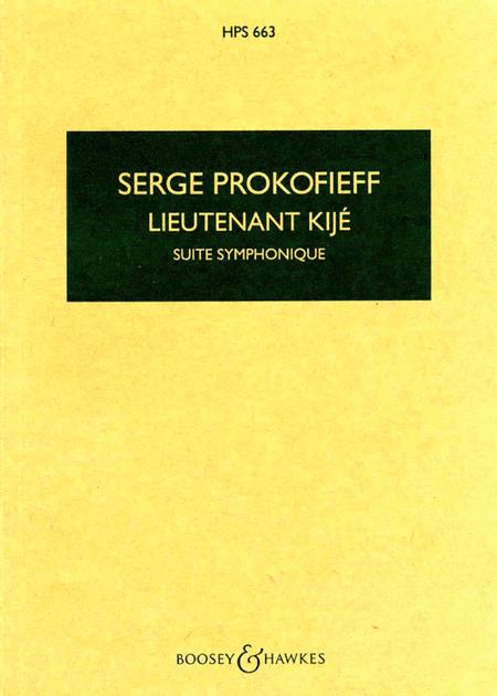 Lieutenant Kije, Op. 60