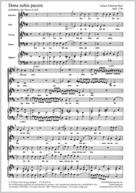 Dona Nobis Pacem Mozart