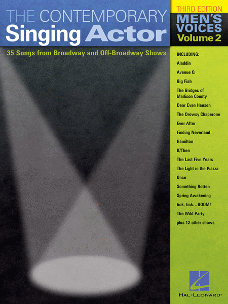 The Contemporary Singing Actor - Men's Voices, Volume 2