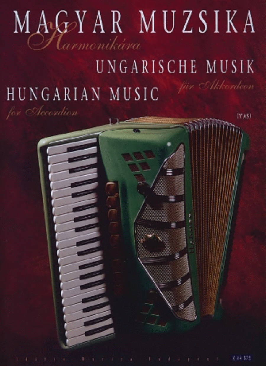 Hungarian Music for Accordion