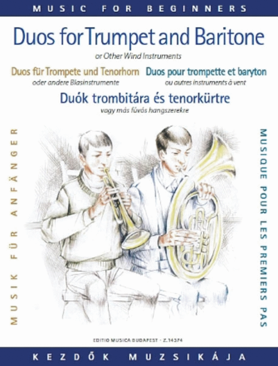 Duos for Trumpet and Baritone (or Trombone)
