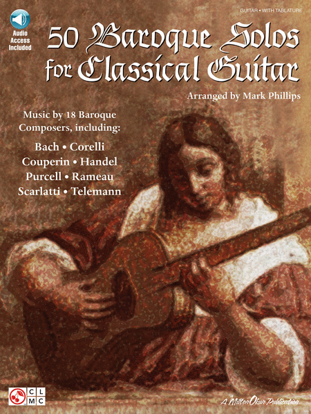 50 Baroque Solos for Classical Guitar