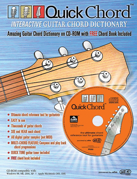 Quick Chord Interactive Guitar Chord Dictionary