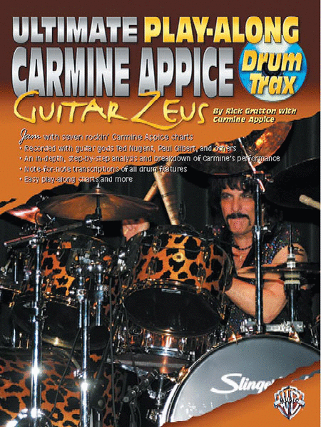 Ultimate Play-Along Drum Trax Carmine Appice Guitar Zeus