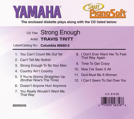 Travis Tritt - Strong Enough - Piano Software