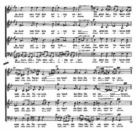 Cornelius: Drei Psalmlieder