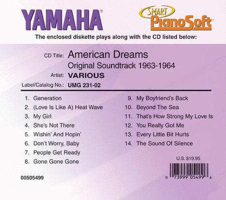American Dreams: Original Soundtrack 1963-1964 - Piano Software