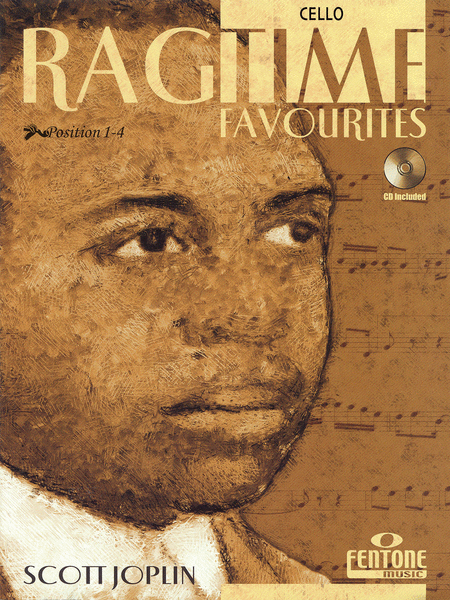 Ragtime Favourites by Scott Joplin - Cello (Book/CD Package)