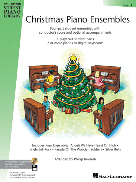 Christmas Piano Ensembles - Level 4 Book Only
