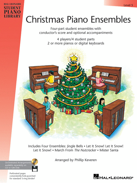 Christmas Piano Ensembles - Level 5 Book Only