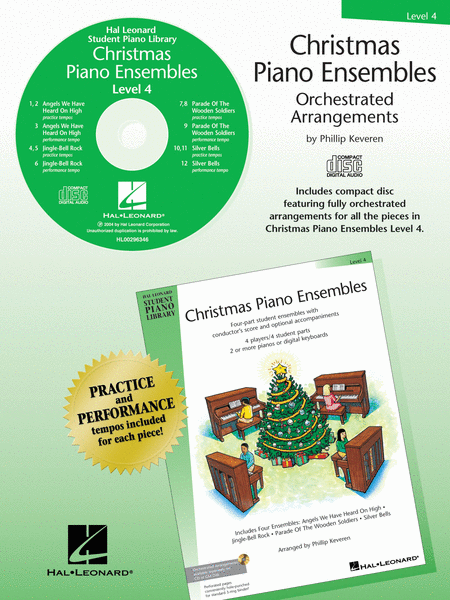 Christmas Piano Ensembles - Level 4 CD Only