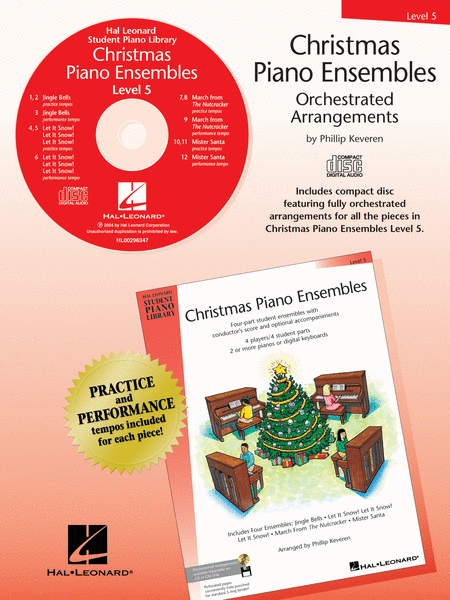 Christmas Piano Ensembles - Level 5 CD Only