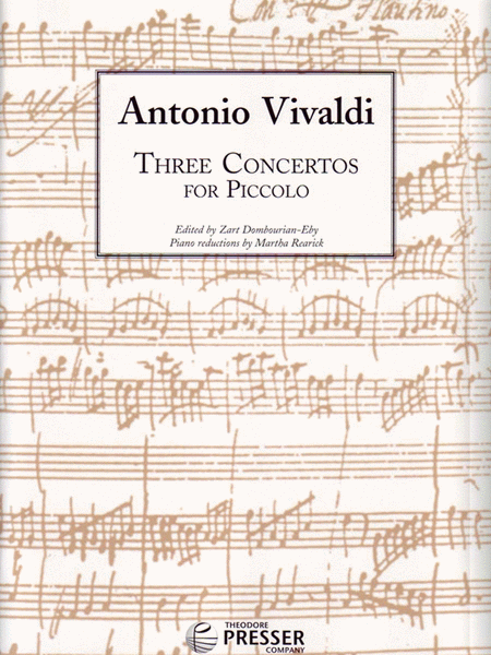 Three Concertos for Piccolo