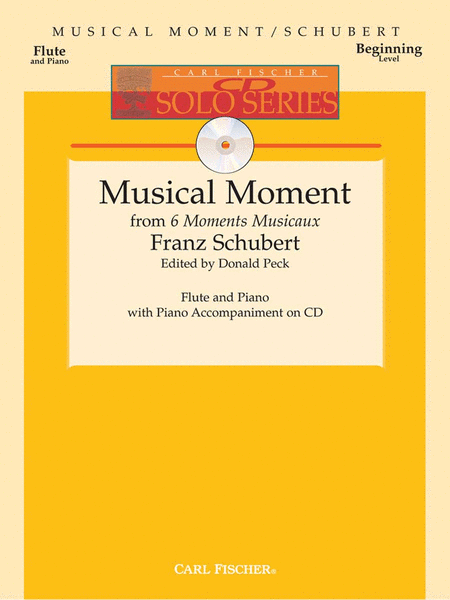 Musical Moments from 6 Moments Musicaux