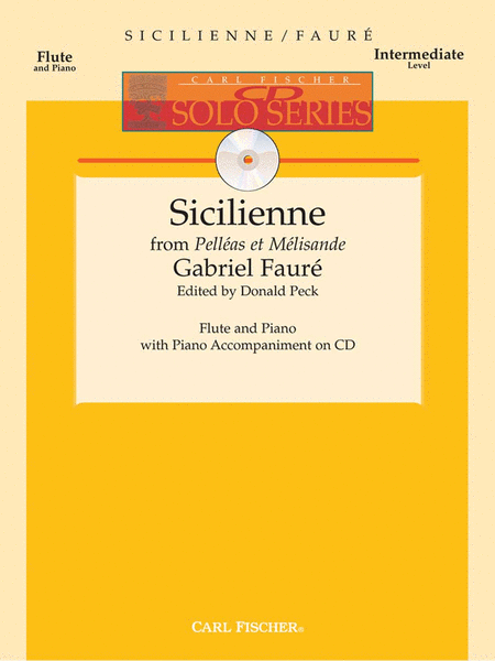 Sicilienne from 'Pellas et Melisisande'