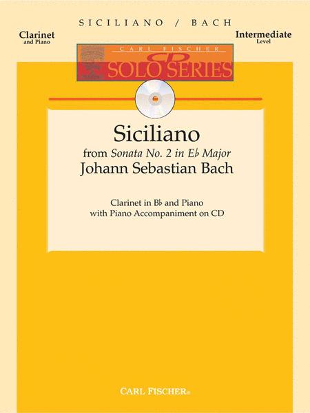 Siciliano from Sonata No. 2 in Eb Major