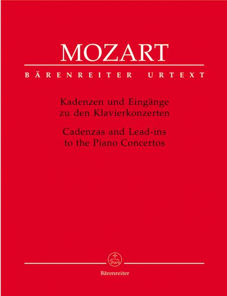 Kadenzen und Eingange zu den Klavierkonzerten