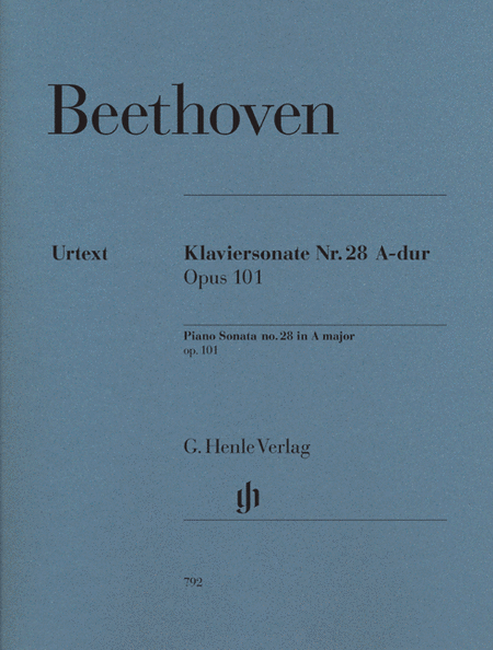 Beethoven: Sonata No. 28 in A Major, Opus 101