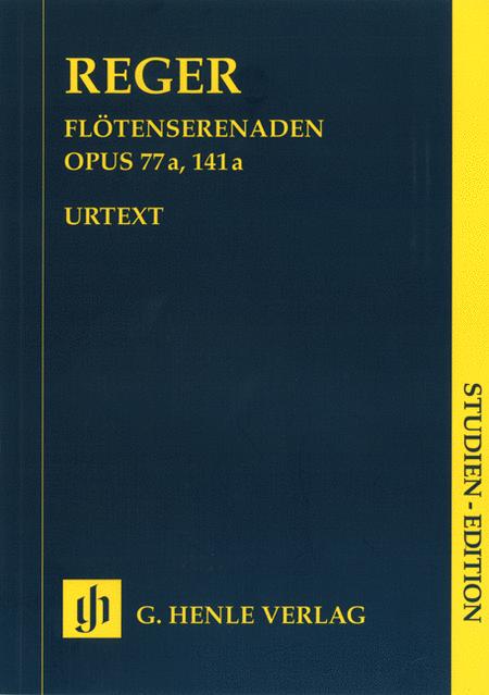 Serenades for Flute, Violin, and Viola Op. 77a and Op. 141a
