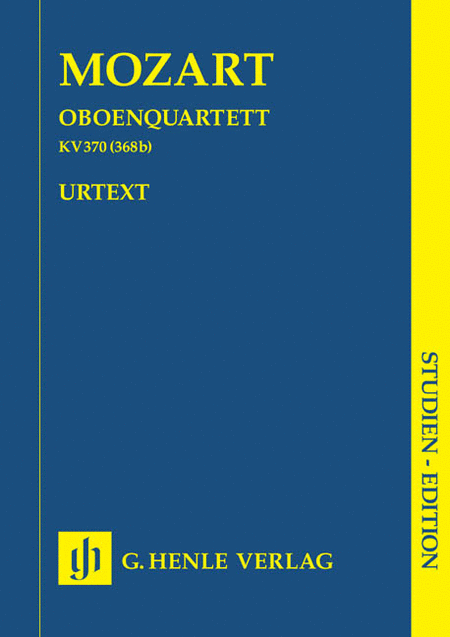 Oboe Quartet F Major K.370 (368b)
