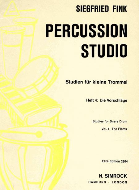 Studies For Snare Drum 4  Perc