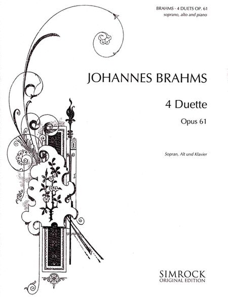 Four Duets, Op. 61