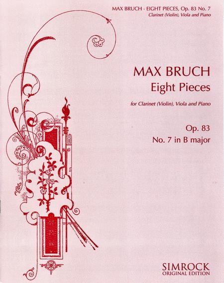 Eight Pieces, Op. 83