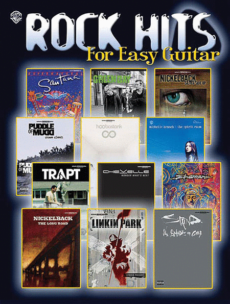 Rock Hits for Easy Guitar